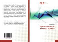 Mythe littéraire et nouveau réalisme kitap kapağı