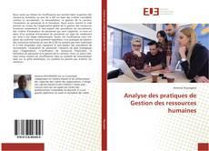 Couverture de Analyse des pratiques de Gestion des ressources humaines