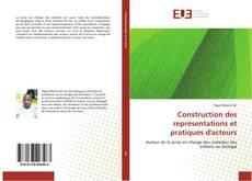 Portada del libro de Construction des représentations et pratiques d'acteurs
