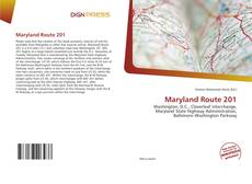 Обложка Maryland Route 201