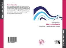 Bookcover of Marcel Lobelle