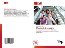Bookcover of Murdoch University