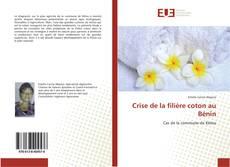 Buchcover von Crise de la filière coton au Bénin