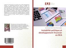 Couverture de Instabilité politique et développement financier en RCA