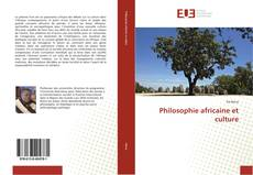 Bookcover of Philosophie africaine et culture