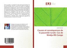 Bookcover of Causes et conséquences de la pauvreté rurale: Cas de Nindja-RD Congo
