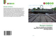 Bookcover of Borgen (station)