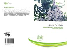 Bookcover of Alyxia Buxifolia
