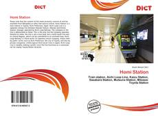 Bookcover of Homi Station