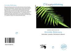 Capa do livro de Aristida Behriana