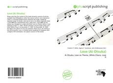 Capa do livro de Love (Ai Otsuka)