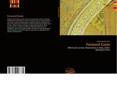 Bookcover of Forward Caste