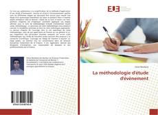 Couverture de La méthodologie d'étude d'évènement
