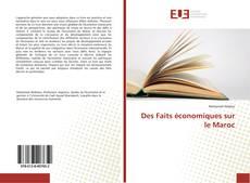 Portada del libro de Des Faits économiques sur le Maroc