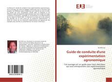 Borítókép a  Guide de conduite d'une expérimentation agronomique - hoz