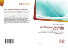 Couverture de Jim Thomson (footballer born 1971)