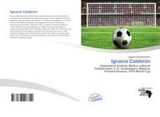 Capa do livro de Ignacio Calderón