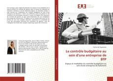 Couverture de Le contrôle budgétaire au sein d'une entreprise de BTP