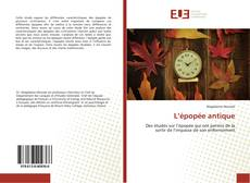 Bookcover of L'épopée antique