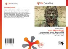Capa do livro de Anti (Mythology)