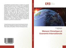 Couverture de Menace Climatique et Economie Internationale