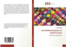 Обложка Les Mathématiques au Burkina Faso