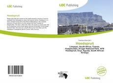 Bookcover of Hoedspruit