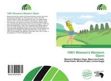 Portada del libro de 1961 Women's Western Open