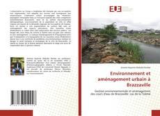 Environnement et aménagement urbain à Brazzaville kitap kapağı