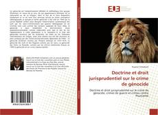 Bookcover of Doctrine et droit jurisprudentiel sur le crime de génocide