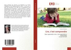 Bookcover of Lire, c'est comprendre