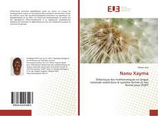 Portada del libro de Nanu Xayma