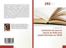 Evaluation de mise en oeuvre du PGES d'un projet électrique au TOGO的封面