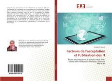 Обложка Facteurs de l'acceptation et l'utilisation des IT