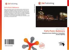 Capa do livro de Fell's Point, Baltimore