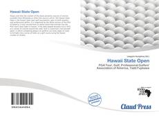 Bookcover of Hawaii State Open