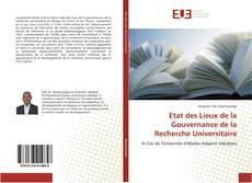 Bookcover of Etat des Lieux de la Gouvernance de la Recherche Universitaire