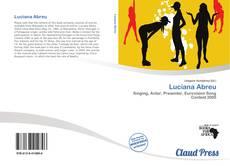 Luciana Abreu kitap kapağı