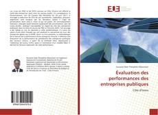 Couverture de Évaluation des performances des entreprises publiques
