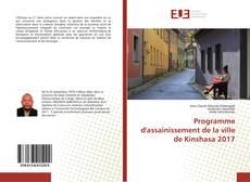Capa do livro de Programme d'assainissement de la ville de Kinshasa 2017