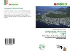 Bookcover of Laingsburg, Western Cape