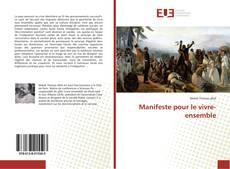 Borítókép a  Manifeste pour le vivre-ensemble - hoz