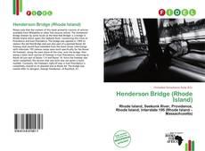 Bookcover of Henderson Bridge (Rhode Island)