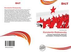 Buchcover von Konstantin Rodzaevsky
