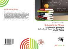 Bookcover of Université de Nîmes