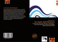 Capa do livro de Ian Taylor (UK Politician)