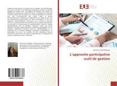 L'approche participative outil de gestion kitap kapağı