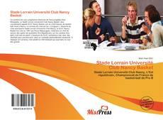 Capa do livro de Stade Lorrain Université Club Nancy Basket