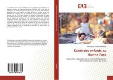 Buchcover von Santé des enfants au Burina Faso