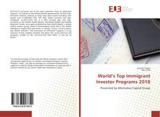 Buchcover von World's Top Immigrant Investor Programs 2018